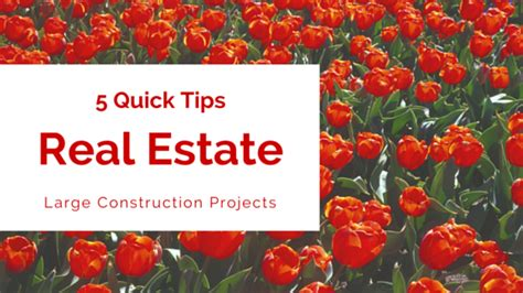5 tips for home loan for under construction projects 5 quick tips for financing your large construction project