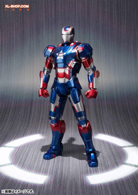 bandai s h figuarts iron 3 iron patriot japan ver