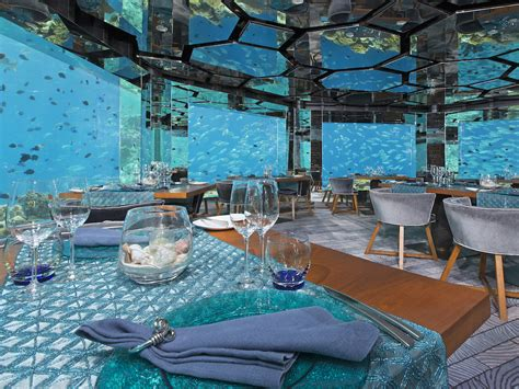 design aquarium restaurant 5 underwater restaurants and bars around the world huffpost