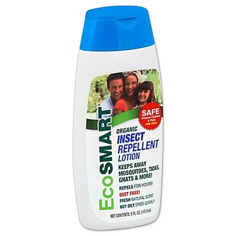 ecosmart bed bug spray ecosmart 174 5 oz insect repellent organic lotion buybuy baby