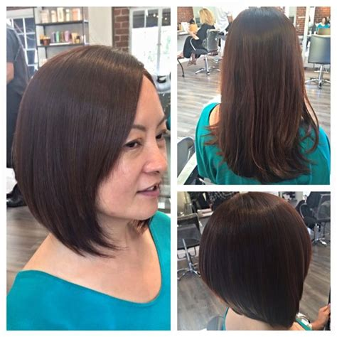 before and after graduated bob haircuts 17 best images about my work on pinterest taper fade