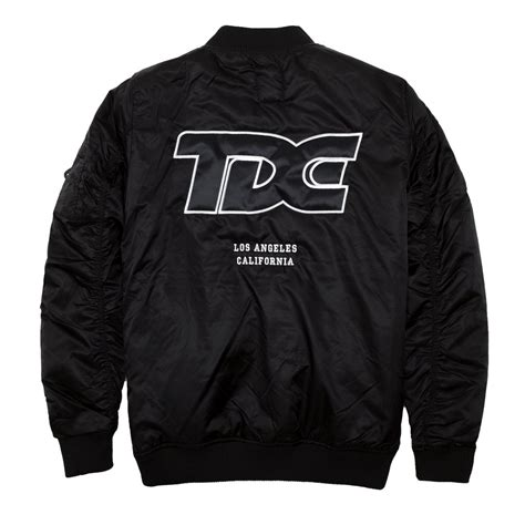 Gazr R Bomber Black Jacket For tde new classic bomber jacket top dawg apparel