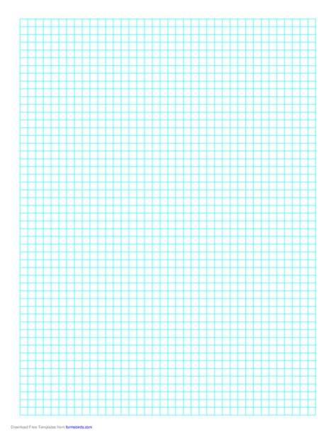 Plaplate Generik 1 Mm A4 1 line every 5 mm graph paper on a4 paper free