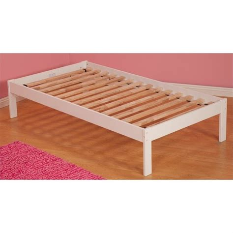 bed frame kit atlantic furniture twin size slat kit bed frame ebay