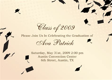 Card Insert Template Free For Graduation by Graduation Announcement Tissue Insert