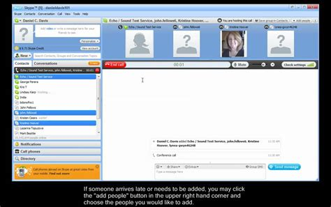 youtube tutorial skype skype conference call tutorial youtube