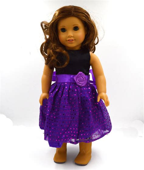 Handmade Dolls Clothes - wholesale new dot doll dress handmade doll clothes skirt