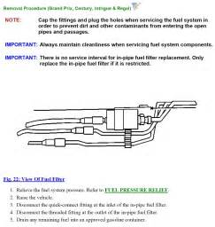 1999 buick regal fuel resistor location how do i replace the fuel filter on a 1999 buick century