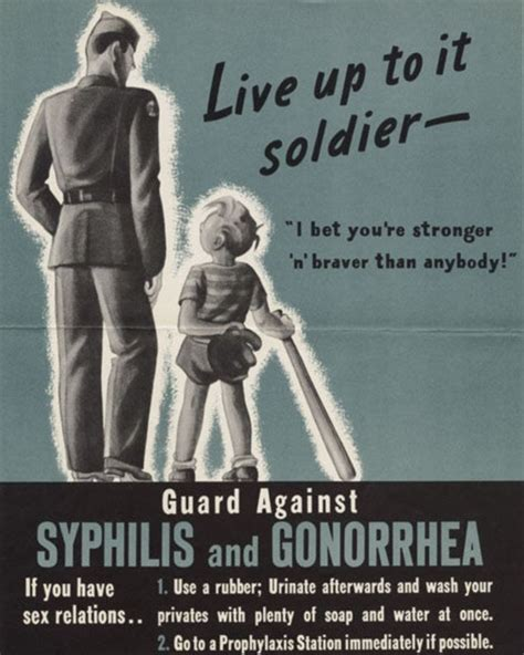 syphilis warning posters against war she may look clean but 1940s anti std posters warn