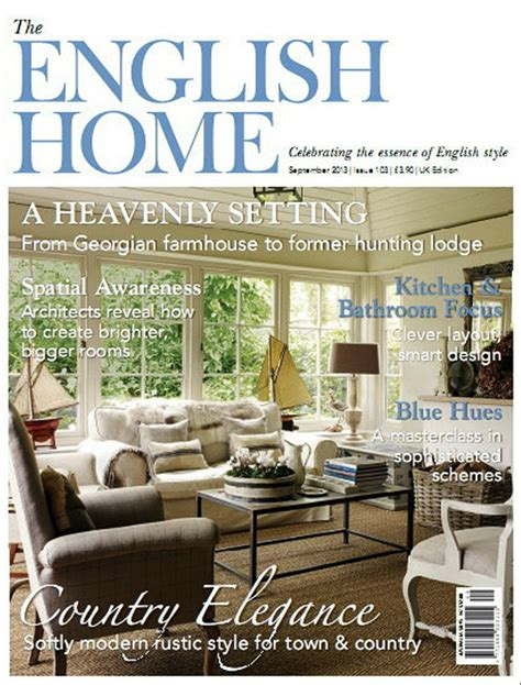 English Home Design Magazines | 10 interior design magazines that you ll love taking inspiration from