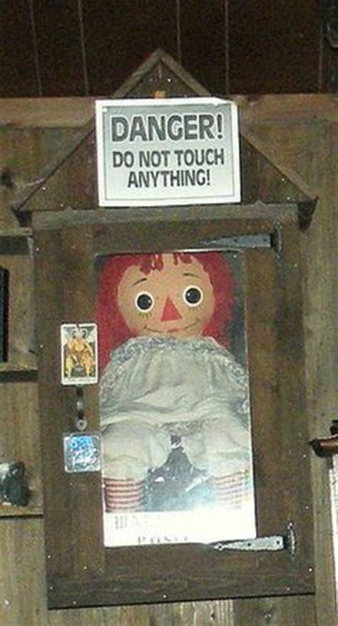 annabelle doll location the of conjuring on occult lorraine