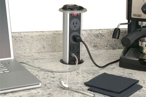 pop up outlet pop up power outlet jlc countertops electrical
