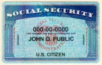 editable social security card template pdf free social security card template