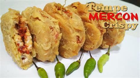 cara membuat mie mercon cara membuat tempe mercon crispy kekinian paling mudah