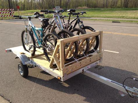 Diy Trailer Hitch Bike Rack by Diy Bike Trailer Hitch Bike