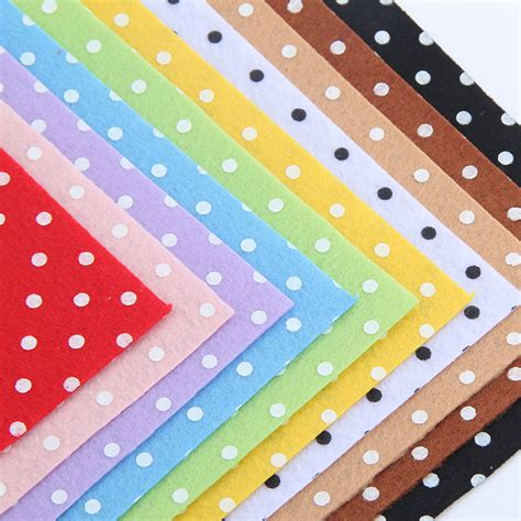 Felt Patchwork - aliexpress buy 100 polyester circle shape felt