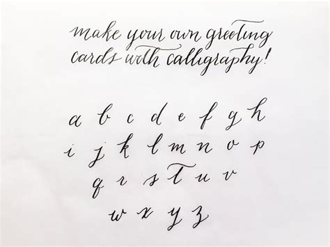 Wedding Font Tick modern calligraphy calligraphy and place cards on