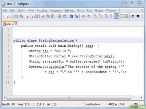 invertir cadenas java 5 formas de manipular cadenas en java wikihow