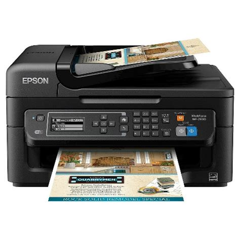 Epson Printer L405 Epson Printer epson workforce wf 2630 wireless all in one printer target