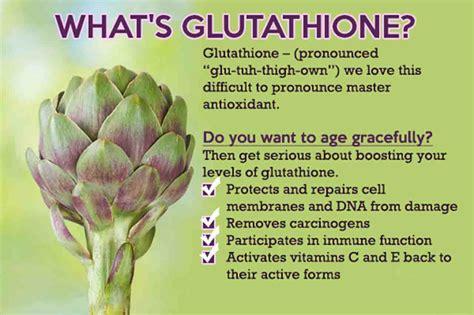 Gluta Glutathione master antioxidant glutathione health facts
