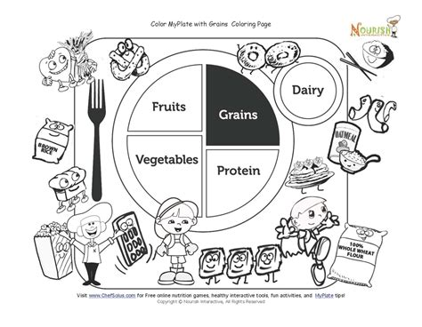 coloring pages food nutrition nutrition coloring pages to download and print for free