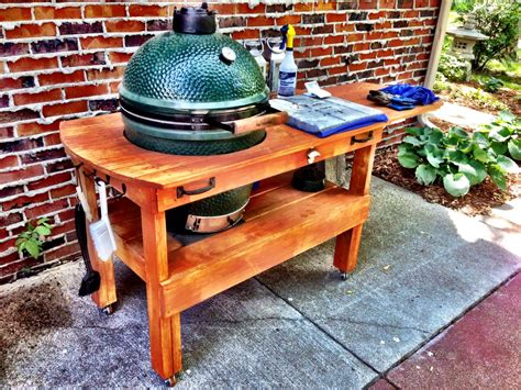 Bge Table by Big Green Egg Table