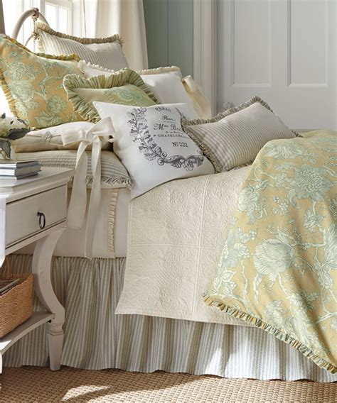 french bedding sets french laundry floral bedding yellow sunny floral print