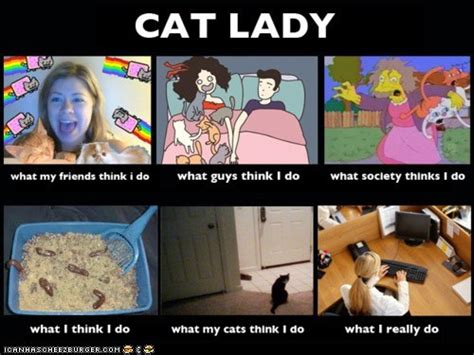 Crazy Cat Lady Meme - misses peach s meowz a funny on sunday