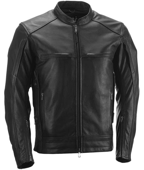armored leather motorcycle jacket 399 95 highway 21 mens gunner armored leather jacket 974709