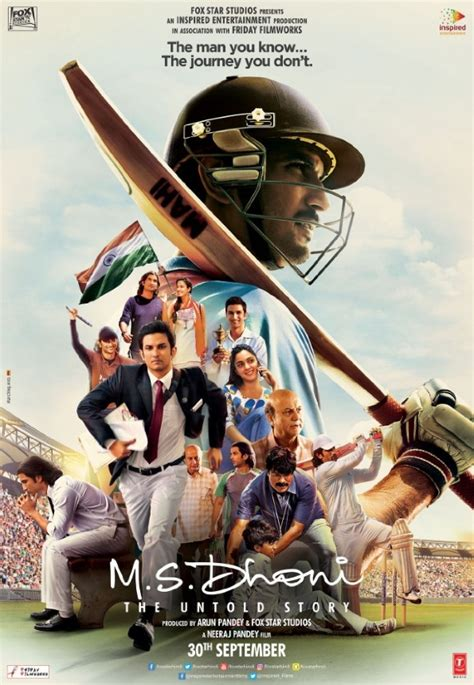 dhoni biography film m s dhoni the untold story cast and actor biographies