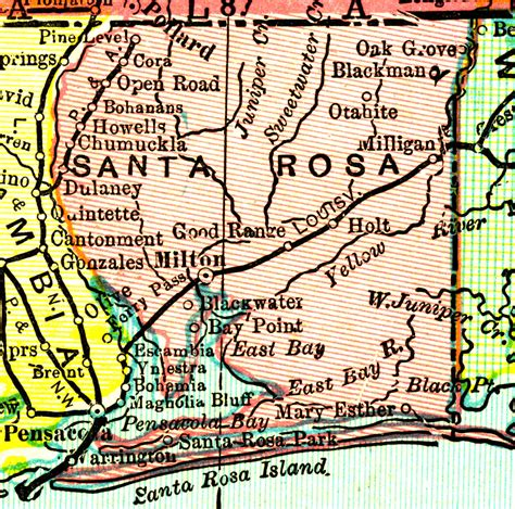 Santa Rosa County Search Santa Rosa County 1898