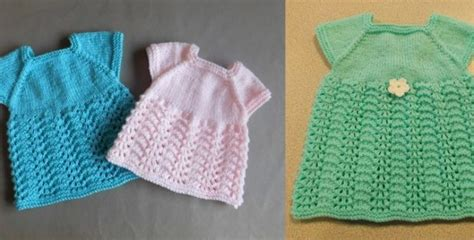 free knitted dress patterns for toddlers sweet meadow knitted baby dress free knitting pattern