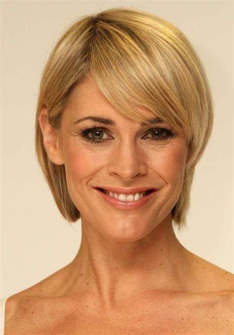 popular short hairstyles  women    fine hair
