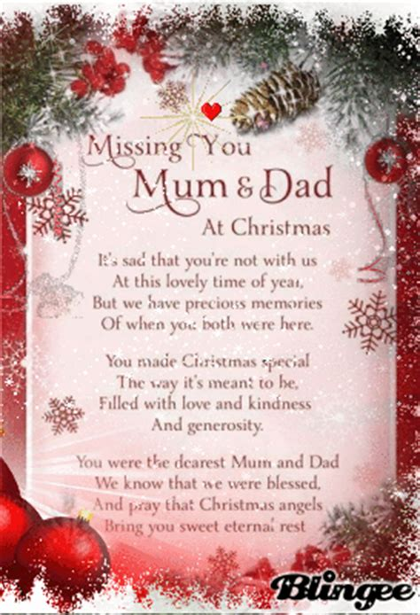 missing mom  dad  christmas picture  blingeecom