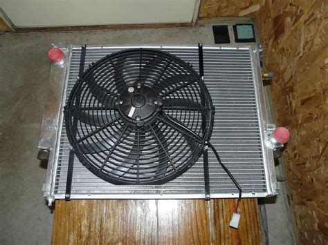 electric fan mounting kit any pointers on electric fan conversion