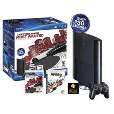 playstation 3 console 250gb ps3 250gb console value bundle w walmart