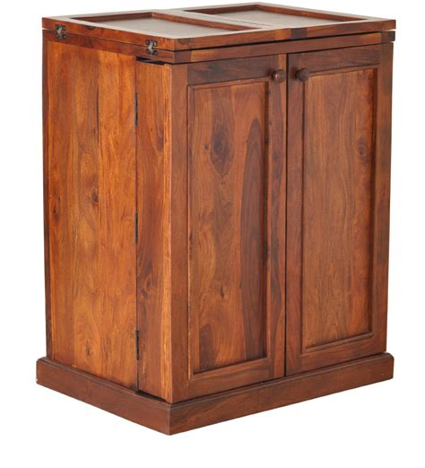 Wood Bar Cabinet Montevideo Solid Wood Bar Cabinet In Honey Oak Finish By Woodsworth By Woodsworth Bar