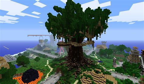 minecraft tree house serenity treehouse minecraft project