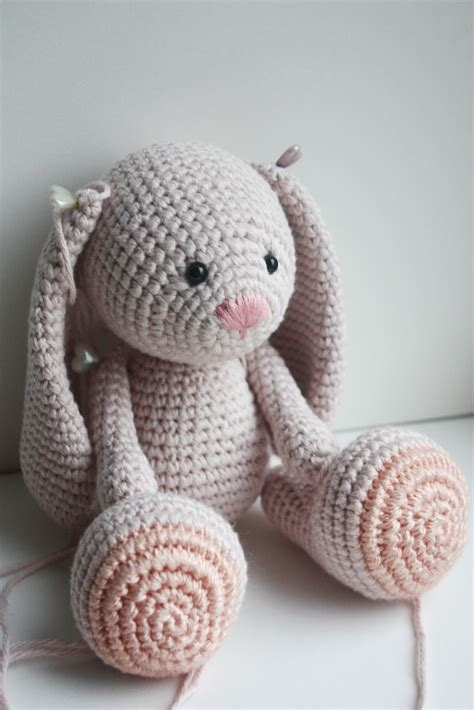 amigurumi pattern free bunny happyamigurumi new design in process little amigurumi bunny