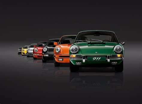 porsche 911 pictures by year celebrating 50 years of porsche 911