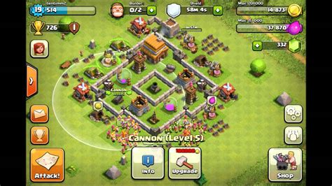 village layout for town hall 4 best clash of clans defense town hall 4 base layout