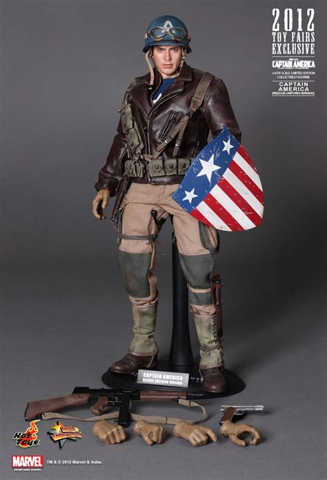 Captain America The Avenger Toys Exclusive 2012 exclusive toys 1 6 captain america mms180 rescue uniforn figure