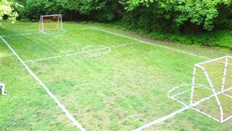 backyard soccer field our environment