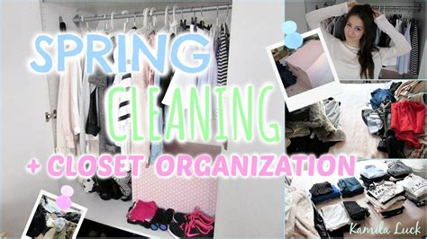 spring cleaning my closet youtube spring cleaning closet organization youtube