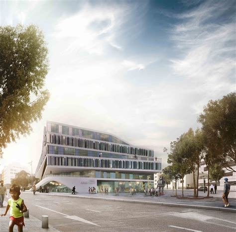 university design proposal 3xn office archdaily