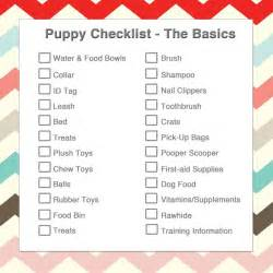 new puppy essentials what s on your checklist pup
