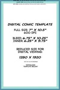 Comic Page Template by Digital Comic Page Template By Lapinbeau On Deviantart