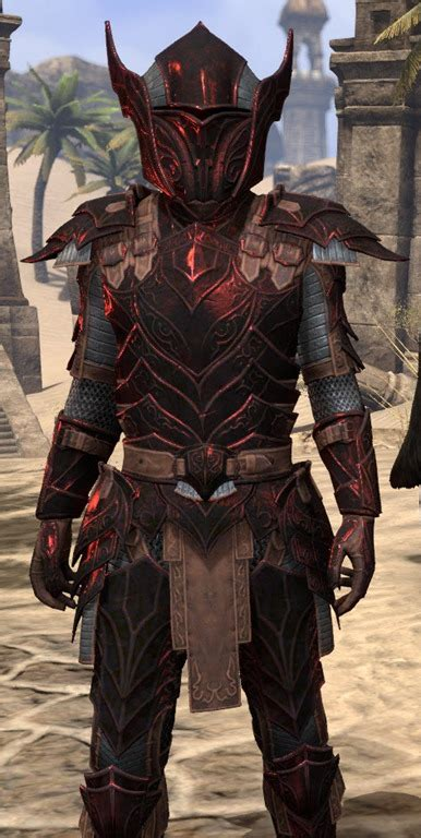 eso fashion ebony rubedite elder scrolls