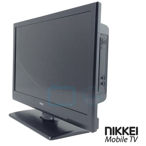 Tv Led Mobil nikkei mobile tv nld24mbk 12 volt 24 inch led tv met dvb s
