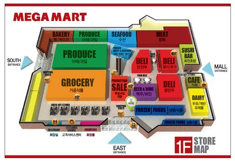 how to layout your supermarket about our store megamart atlanta